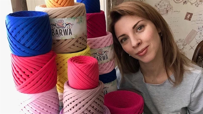 Во время декрета превратила хобби в бизнес. Ольга Симонова из Мариуполя и ее трикотажная BARWA