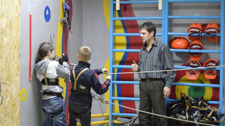 e469a2ea22e64a Як в Енергодарі проходять тренування юних туристів. Відео ...