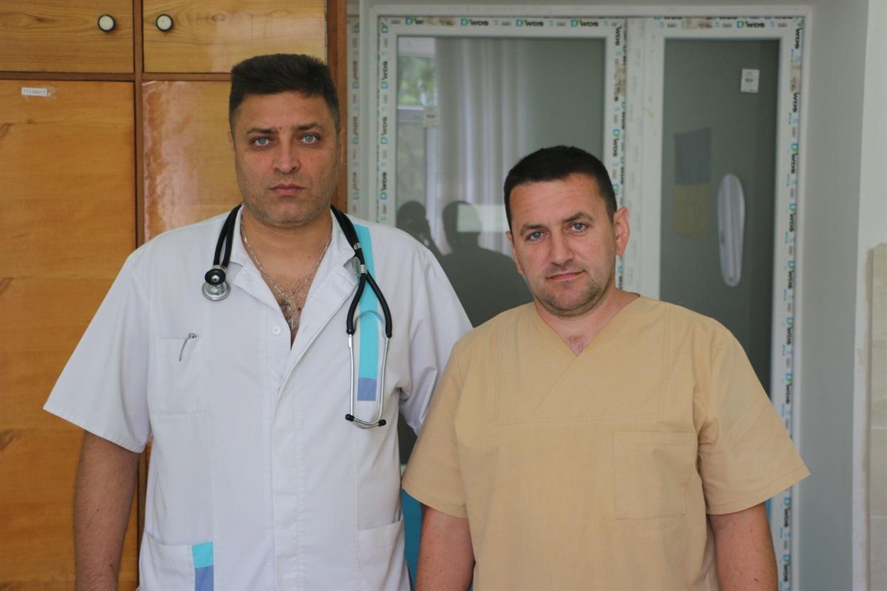 Сергій Кацарській (зліва) Микола Дячук (зправа)