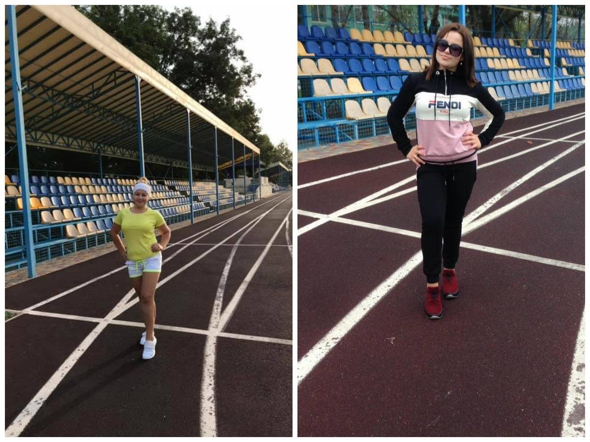 Щодня пробіжка на стадіоні