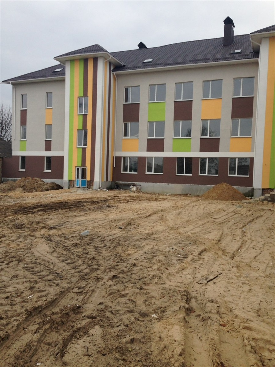 Будівництво школи. 2018 рік