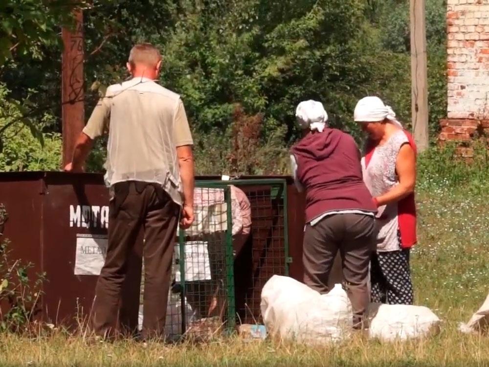 Мешканці Бочечківської ОТГ сортують сміття