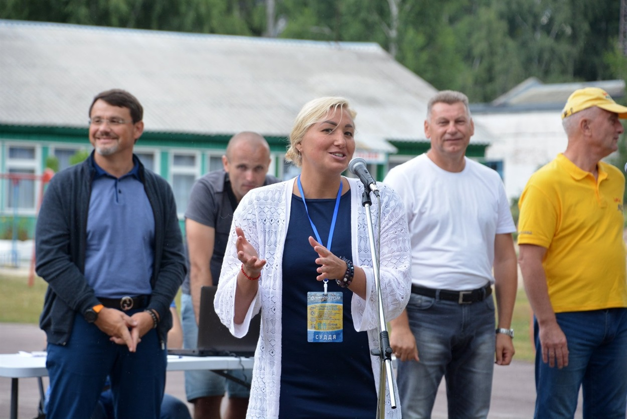 Головна суддя змагань Ольга Береснева