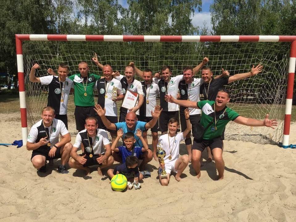 Чемпіон Рівненщини з пляжного футболу 2019-го року – «Моноліт» з Вараша