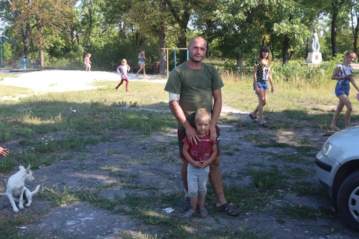 Сергій Мішанов, батько 5 дітей, ветеран АТО-ООС