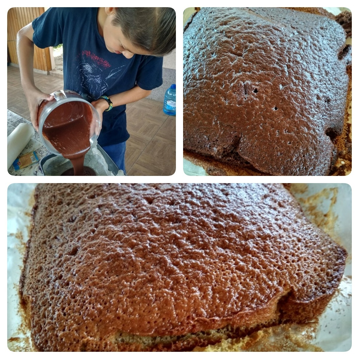 Випікання тортика