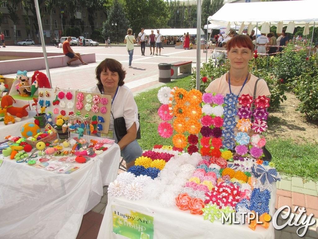 Мелитопольские мастерицы и их изделия