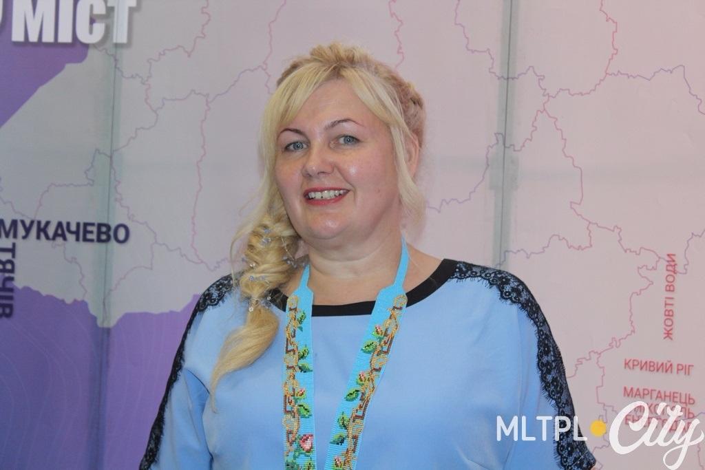 Керівник мелітопольської команди фестивалю Олена Коломоєць