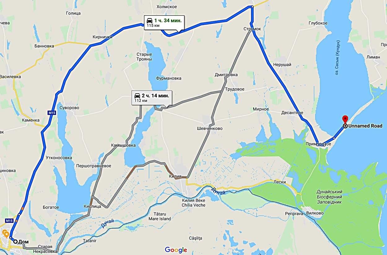 Дорога к морю, утверждает карта, займет около 120 км. Полтора часа по хорошей, между прочим, дороге. Только последние километры - по грунтовке