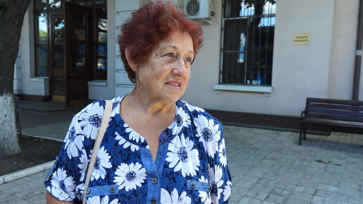 Віра Васьковська, пенсіонерка