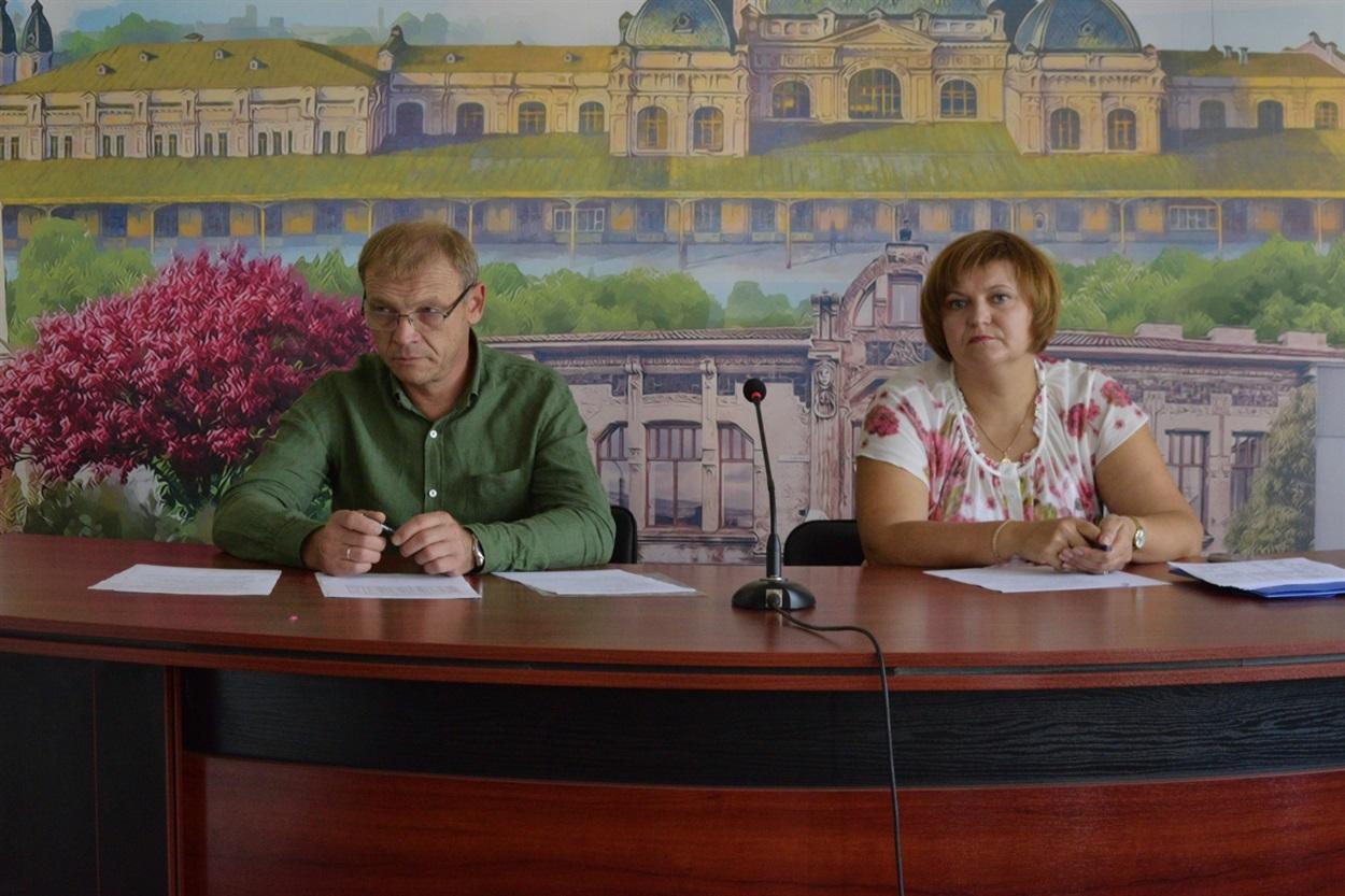 Володимир Твердохліб та Олеся Колосова