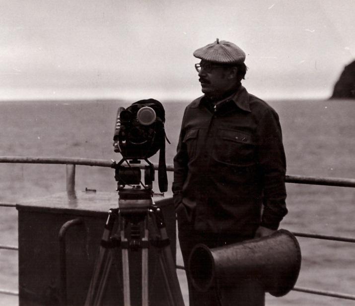 """1980 рік. Море Лаптевих. Зйомки фільму """"Якуцький флагман"""""""